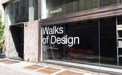 LUNGO LA 'WALKS OF DESIGN' DI VIA DURINI