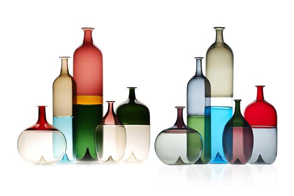 La passione per il vetro soffiato