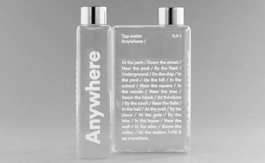 La riscoperta delle fontane pubbliche con la bottiglia Phil di Palomar
