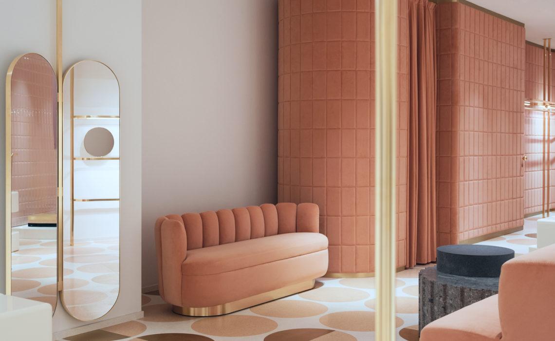 Il velluto è il materiale principe dei nuovi interiors