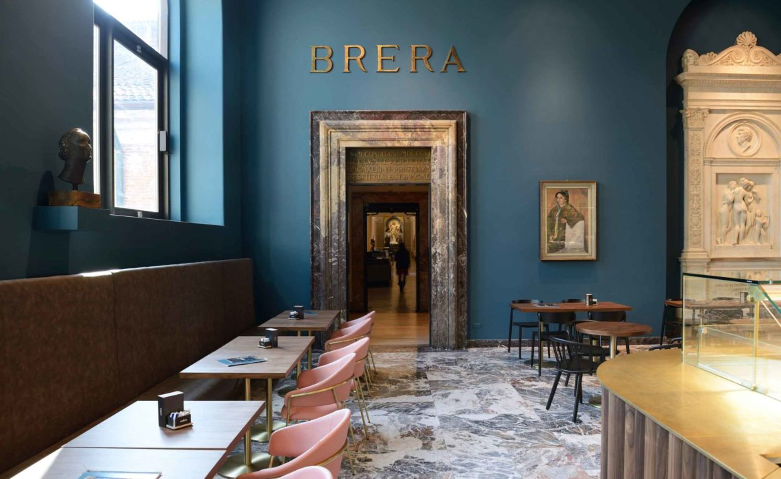 RGA Studio firma il nuovo Caffè Fernanda a Brera