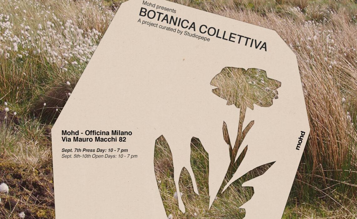Mohd apre Officina Milano con l'allestimento Bo-tanica Collettiva