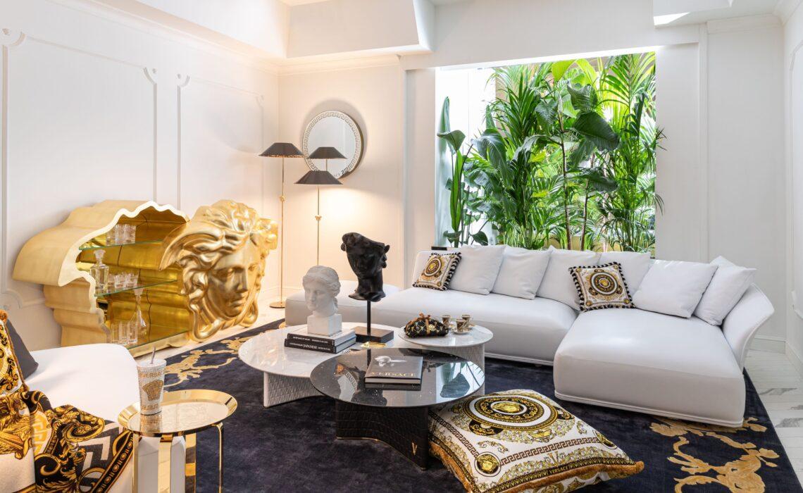 Versace Home presenta la sua nuova casa